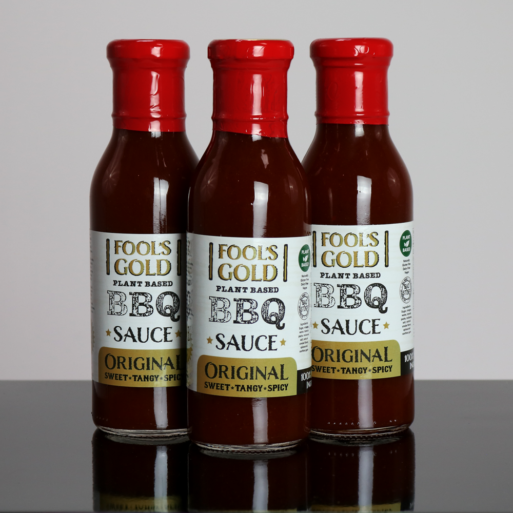 Fool's Gold Original Plant Based BBQ Sauce