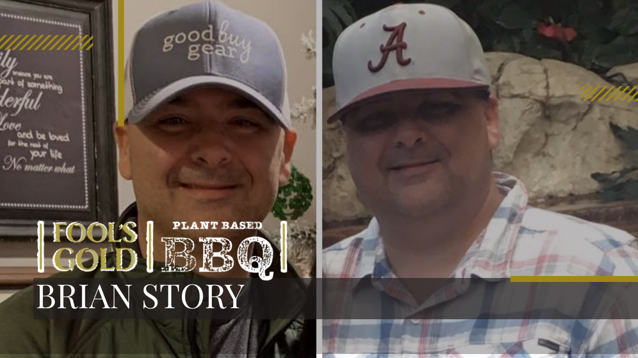The story behind losing 120 pounds with just plant-based food