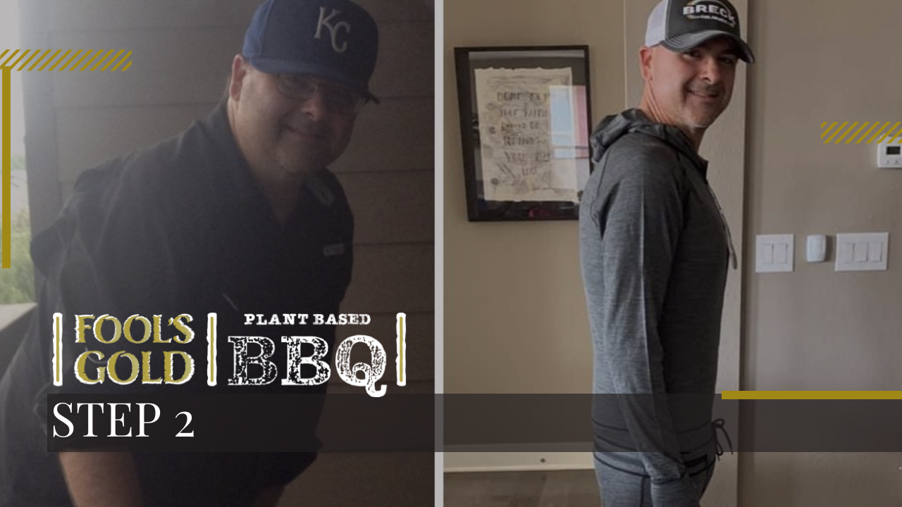 Plant-based Transformation Step 2: Losing Weight & Consistent Exercise