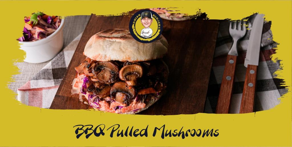 BBQ Smoked Mushrooms