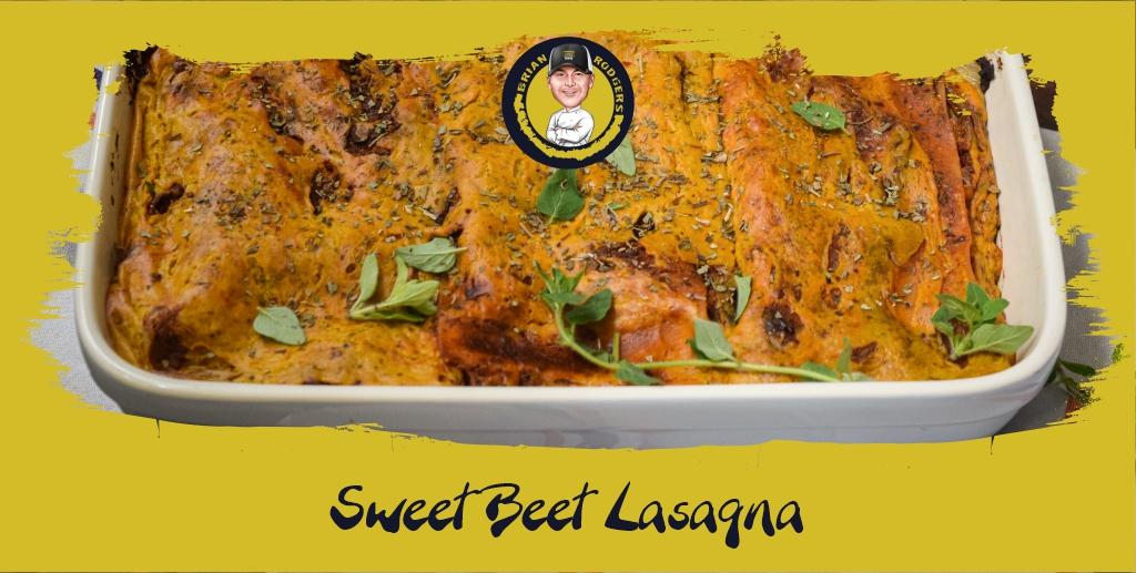 Sweet Beet Lasagna